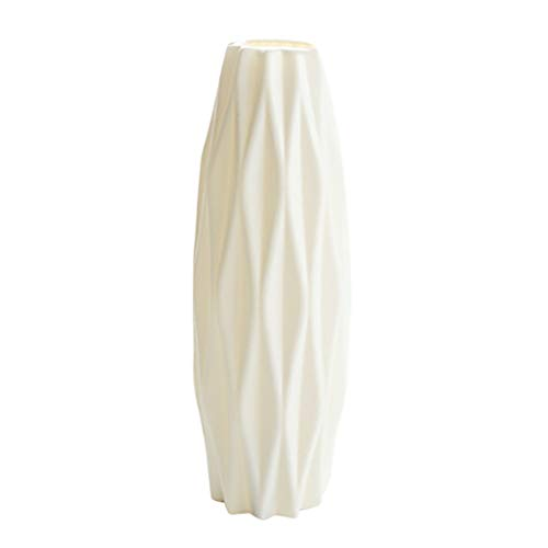 Drop-Proof Vase 1pc Plastic Shatterproof Flower Plant Pot Vase Geometric Origami Vase Flower Arrangement Container Study Room Home Wedding Decor Home Decoration & Hangs