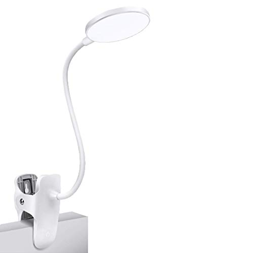 Reading Light, 25 Settings(5 Colour x 5 Brightness) Clip On Reading Light,...