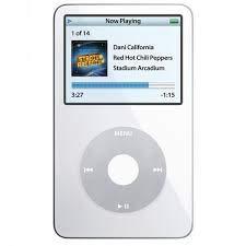 Apple iPod Classic Video 60GB ホワイト 第5世代 - メーカー生産中止 ジェネリックイヤーポッド壁プラグと充電ワイヤー付き ホワイトボックス入り