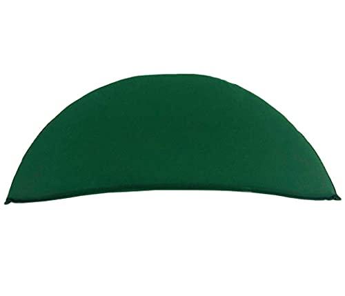 KMH®, Grünes Sitzkissen für 2-sitzer Bananenbank (#105062)