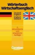 Wörterbuch Wirtschaftsenglisch: Deutsch-Englisch/Englisch-Deutsch