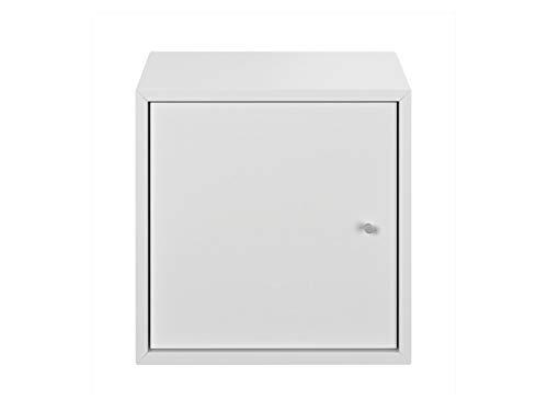 Livarno Living Combine Modulregal mit Tür Weiß Wandregal Regal Ablage