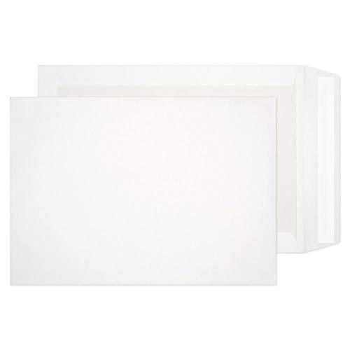 Purely Packaging 12935 Versandtasche Mit Papprückwand Haftklebung Weiß C4 324 x 229 mm - 120g/m² | 125 Stück