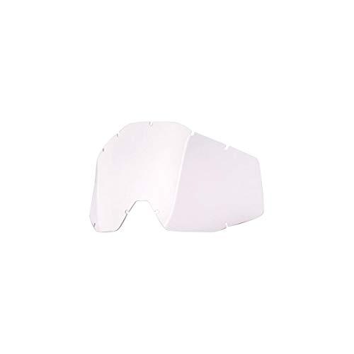 100 Percent Strata Mini Kids MX Goggle Lens One Size Clear Anti-Fog