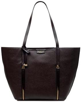 Radley London Women's Brown Leather Double Flat Strap Shoulder Bag