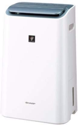 Sharp Air Purifier & Dehumidifier for Homes, Offices, Labs | Awarded Plasmacluster Tech | True HEPA & Carbon Filter | Auto Dehumidification | Removes Odour from Laundry | Model: DW-E16FA-W