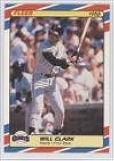 Will Clark (Baseball Card) 1988 Fleer Limited Edition Baseball Superstars - Box Set [Base] #8