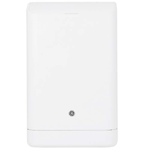 GE APCA10YZMW Portable Air Conditioner with 10000 BTU Cooling Capacity, 3 Speeds, Single Hose, Remote Control and 115 Volts, in White