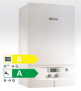 Junkers Bosch - Caldaia a condensazione - 7736901265 CONDENS 2000 W New ErP gas Metano