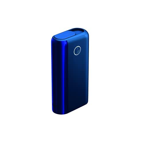 glo™ Hyper+ Tabakerhitzer (Energetic Blue), elektrischer Tabak Heater für klassischen Zigaretten Geschmack, Alternative zur E-Zigarette, Boost-Modus, 20 Sticks pro Akkuladung