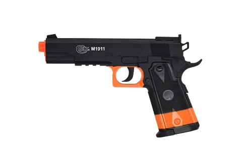 Soft Air Colt 1911 CO2 Airsoft Pistol, 395 FPS, Black