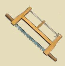 Krippenzubehör, Schreinersäge, Länge 5cm