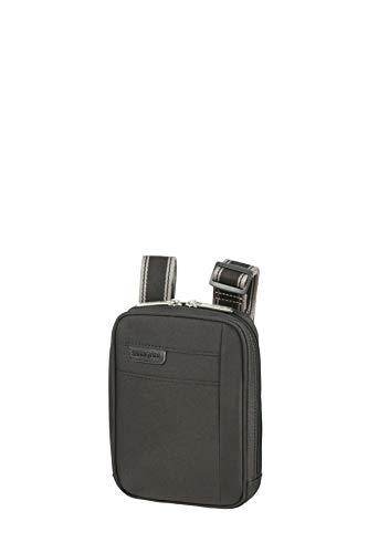 Samsonite Hip-Sport Bolsas de mensajero, XS (18 cm - 2 L), Black