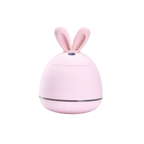 Diaod 200ML USB Coniglio umidificatore a ultrasuoni Nebbia Fredda Adorabile Mini Aroma umidificatore for Office (Color : A)