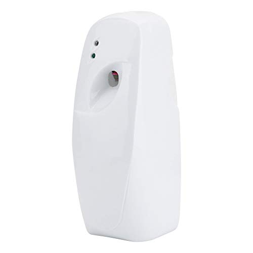 Duftspender Automatisch, MAGT Startseite Innenwand Automatisch Einstellbarer Lufterfrischer Duft Aerosol-Spray-Dispenser Mit Einem Lichtsensor For Öffentliche Toilette Hotels