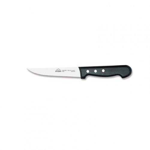 Stubai 210 mm Couteau de Boucher en Acier Inoxydable avec Manche en Bois Extra Large