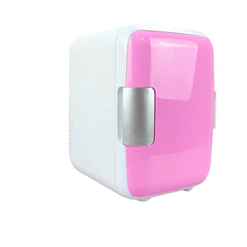 Mini 4L refrigerante y calefacción Refrigerador Maquillaje Cosmético Frigor de Doble Uso para el hogar Car Coche refrigeradores (Color Name : Peacock Blue)