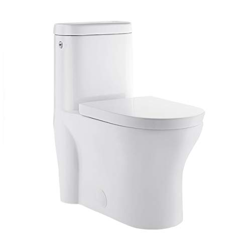 Swiss Madison Well Made Forever SM-1T263 Monaco Touchless Toilet, Glossy White