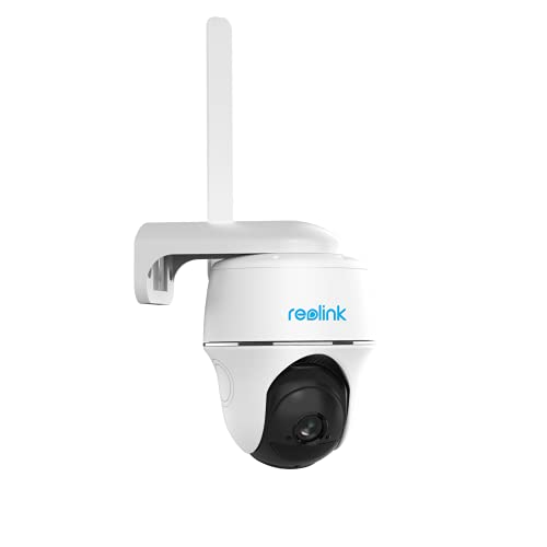 Pan Tilt 3G/4G LTE Security Camera - Reolink Go PT (US Version), Starlight Night Vision, 2-Way Audio, PIR Motion Detection, No WiFi, No Wires