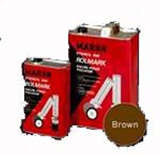 Marsh Rolmark Brown Ink - Quart