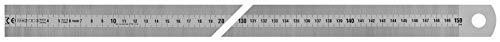 Vogel Germany 1018010150 1018010150-Regla (Tipo A, Longitud 1500 mm, sección Transversal 30 mm x 1,0 mm, Acero Inoxidable, Lectura Izquierda a Derecha)