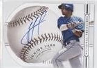 Junior Lake #1/99 (Baseball Card) 2014 Panini National Treasures - Baseball Signature Die-Cuts #56