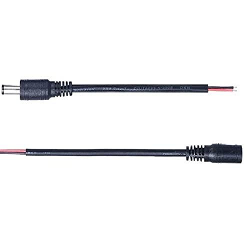 Conector CORRIENTE CONTINUA Conector de conector de cables Power Cable 12V Conectores...