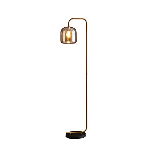 Floor Lamp LED Modern Living Rooms Sofa Verticale Light Slaapkamer Nachtlampjes sfeerverlichting Tall staande lamp Home Decoration Lamp LED (Color : A, Size : 37cm*164cm)