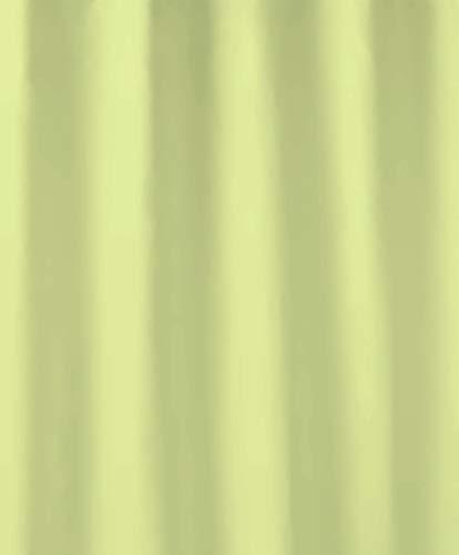 Kleine Wolke 5210625305 Duschvorhang Uno, 180 x 200 cm, maigrün