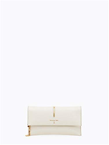 Patrizia Pepe Piping Clutch Creme