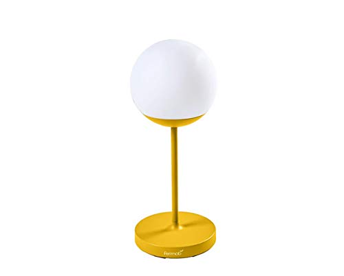 Fermob Mooon! Altura de la lámpara: 63 x 25 cm., Unisex adulto, Lámparas, 532073, miel, 63 x 25 cm