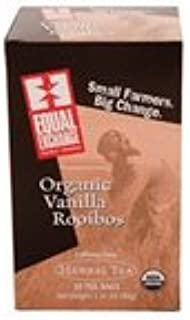 Equal Exchange Herbal, Vanilla Rooibos Tea (3x20 bag)