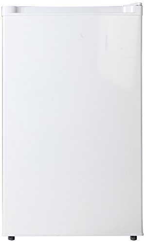 Midea WHS-160RW1 Single Reversible Compact Refrigerator, 4.4 Cubic Feet, White