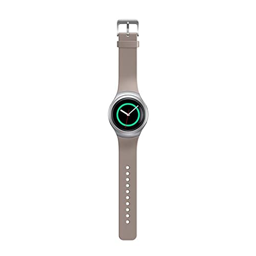 XUEMEI Silicone Smart Watch Band Correas De Colores Sólidas para Samsung Gear S2 SM-R720 SM-R730 Pulsera Deportiva Correa Adulto (Color : 8)