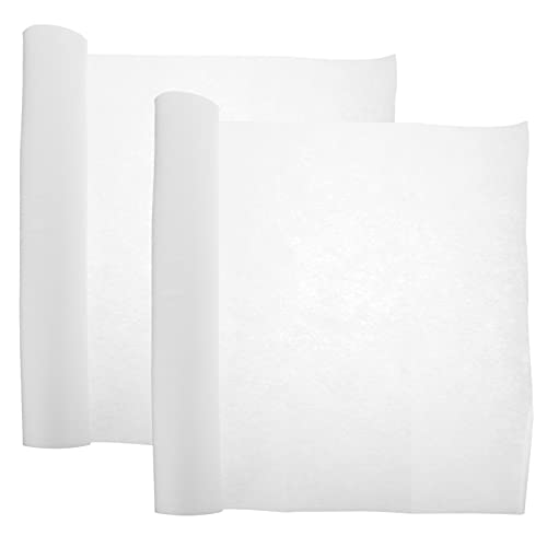 iplusmile 2 Rollen Einfache Absorbieren Papier Nützlich Dunstabzugshaube Papier Praktische Öl Fume Papier