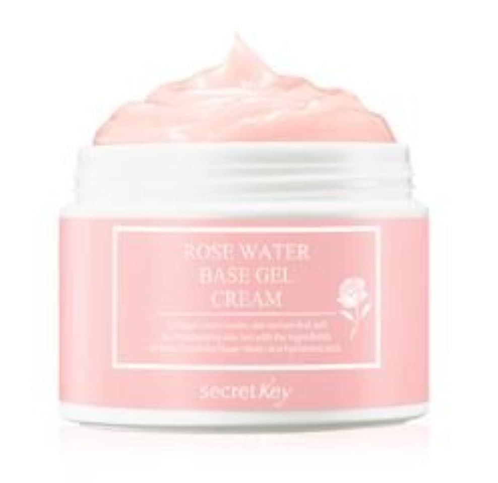 ゴルフ繁栄穴[Secret Key] Rose Water Base Gel Cream 100g /[シークレットキー] ローズウォーターベースジェルクリーム100g [並行輸入品]