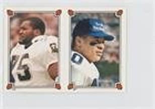 Fredd Young; Bruce Clark (Football Card) 1987 Topps Album Stickers - [Base] #267-118