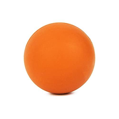 JSBAN Miofascial Lacrosse Bola Masaje Masaje Bola de Alta Densidad Liviana Aptitud Cuerpo Fascia Masaje Yoga Ejercicio aliviar Dolor (Color : Orange)