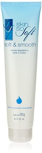 Avon Creme Depilatório Para o Corpo Skin So Soft com Complexo Hidratante - 125 g