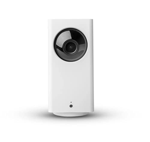 Wyze Cam Pan v2 1080p Pan/Tilt/Zoom Wi-Fi Indoor Smart Home Camera with Color Night Vision, 2-Way Audio, Compatible with Alexa & The Google Assistant, White