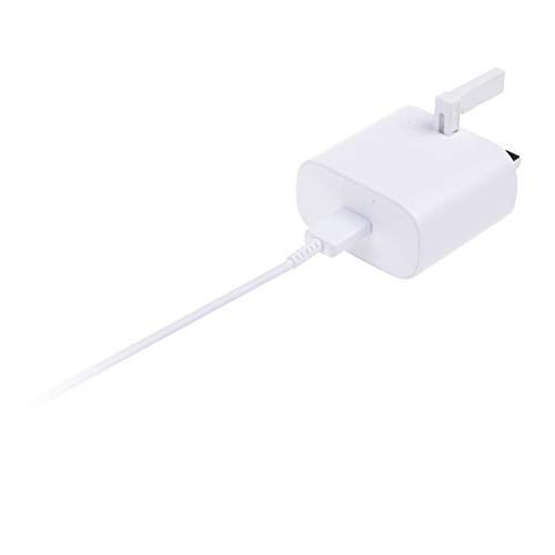 Samsung Original 45W USB-C Tablet and Mobile Phone Wall/Mains Plug Charger – Genuine Super Fast Charging 2.0 Galaxy Note S10+ and other USB Type C Devices– White, EP-TA845XWEGGB