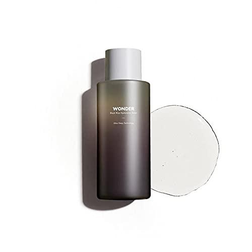 [Haruharu Wonder] Black Rice Hyaluronic Toner - Anti-oxidation and Nourishing, 5.1 fl oz (150ml), 95% natural ingredients, EWG green scored on key ingredients, 600 ppm of Hyaluronic acid, Lavender oil