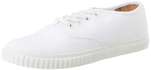 Timberland Damen Newport Bay Bumper Toe Oxford Gymnastikschuhe, Weiß (Bianco (White) Tb0a28m81001), 39.5 EU
