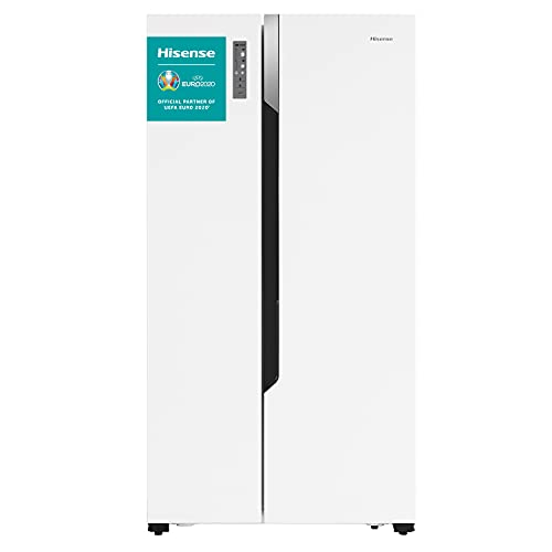 Hisense RS670N4HW1 - Frigorífico Side By Side, Puerta Americana, Total No Frost,...