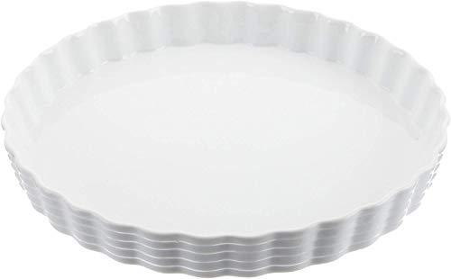 Küchenprofi 07 5041 82 28 Moule de gâteau Burgund 28cm Blanc, Porcelaine, 28 x 28 x 15 cm
