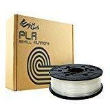 Bobine recharge de filament PLA, 600g, Naturel pour imprimante 3 D DA VINCI  1.0PRO - 1.0A - 1.0AiO - 2.0A - 1.1 PLUS - Super