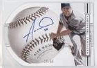 Alex Wood #15/99 (Baseball Card) 2014 Panini National Treasures - Baseball Signature Die-Cuts #7