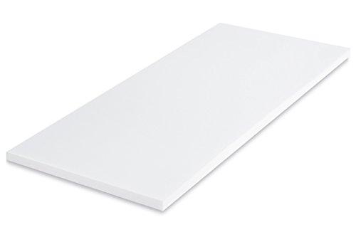 MSS Matratzenauflage, Weiß, 90 x 200 cm