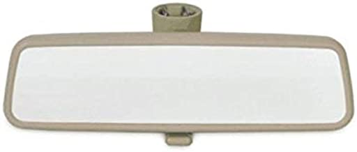 GHDBHFD Multi-Color Opcional del Espejo del Coche Interior Espejo retrovisor Interior/Ajuste for Volkswagen Passat B5 Golf 4 (Color : Beige)