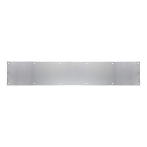 """Tell Manufacturing DT100056 Kick Plate, Aluminum, 6"""" x 34"""""""